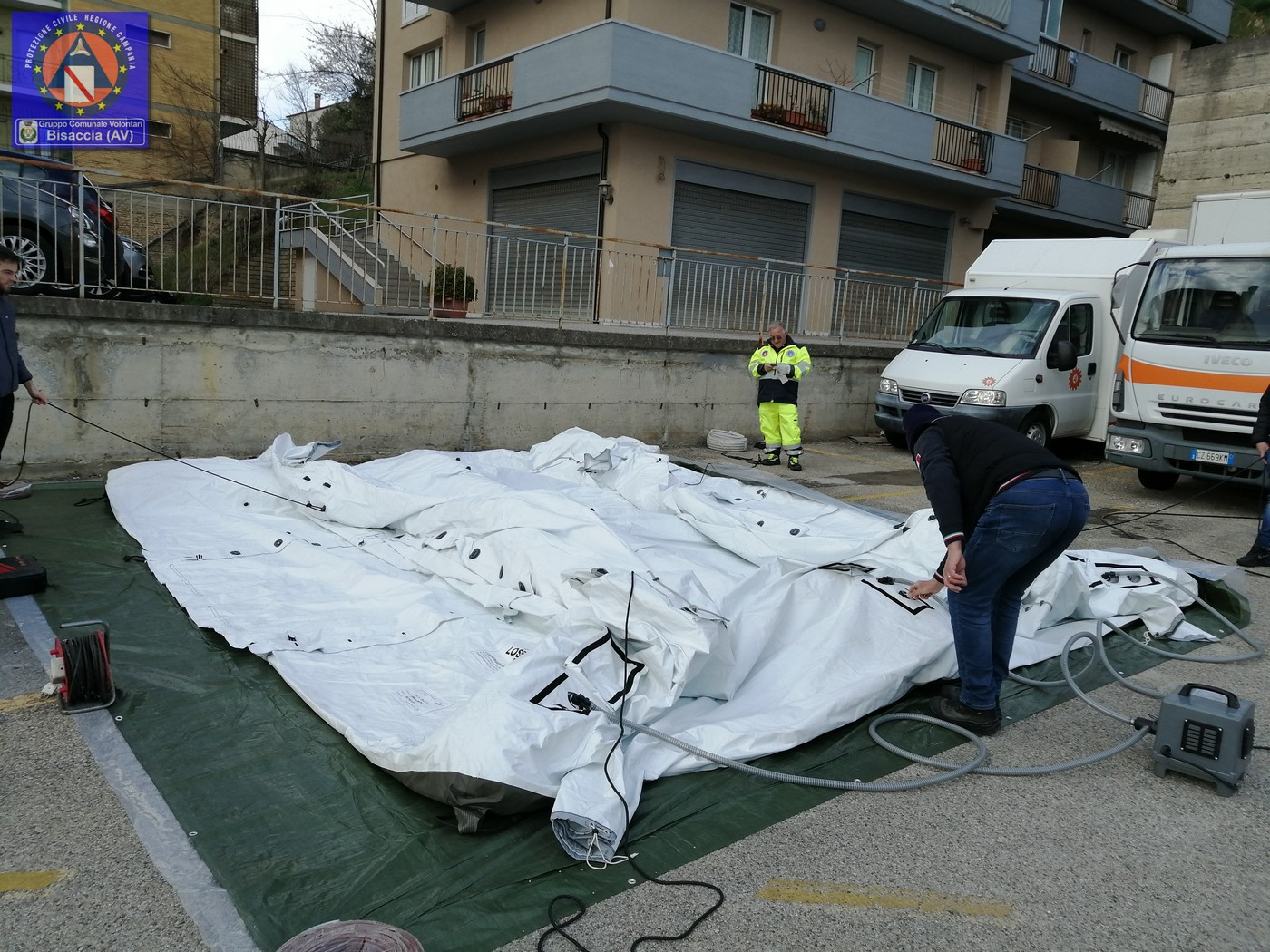 Tenda Ariano GCVPC Bisaccia 1